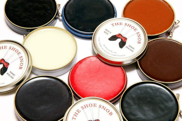 J.FitzPatrick Footwear - Beeswax Shoe Polish - Blue