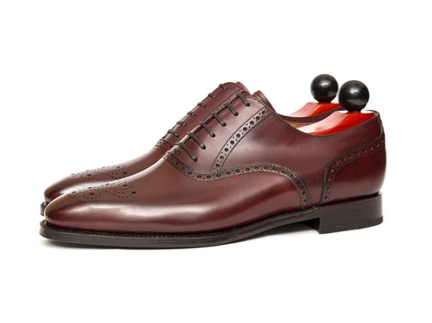 J.FitzPatrick Footwear - Wallingford ll - Burgundy Calf