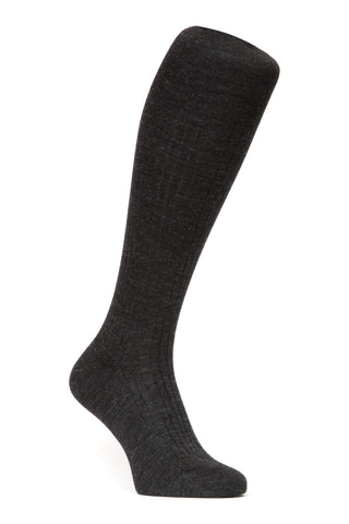 J.FitzPatrick Footwear - Merino Wool Socks - Speckled Charcoal