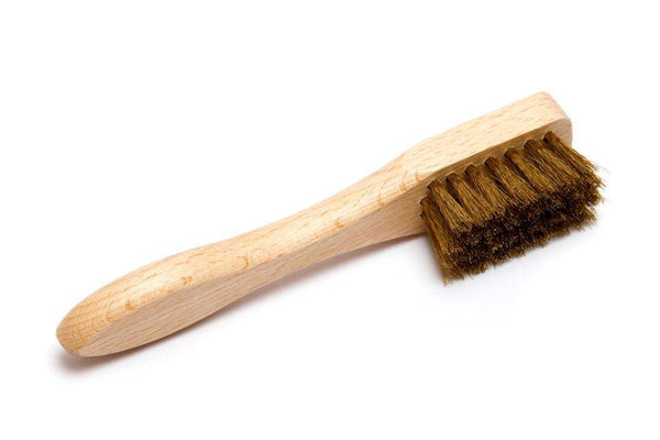 J.FitzPatrick Footwear - Suede Brush - Brass