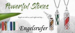 ENGELSRUFER ANGEL WHISPERER | STERLING SILVER JEWELLERY | POWER STONES | NATURAL STONES | CALL YOUR GUARDIAN ANGEL | WING PENDANTS | FEATHER NECKLACES | TREE OF LIFE | FLOWER OF LIFE | INFINITY SYMBOL | BRACELETS | EARRINGS | CHARMS