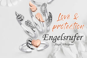 ENGELSRUFER LOVE & PROTECTION RING COLLECTION | STERLING SILVER JEWELLERY WITH MEANING