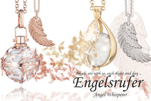 ENGELSRUFER ANGEL WHISPERER AUSTRALIA | CALL YOUR GUARDIAN ANGEL | SILVER STEEL JEWELLERY
