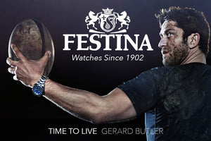 FESTINA WATCHES AUSTRALIA | SINCE 1902 | TIME TO LIVE BY GERARD BUTLER