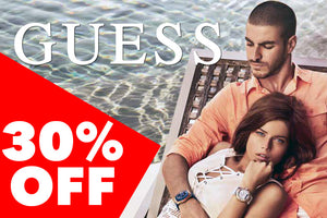 GUESS WATCHES | 30% OFF | DON'T MISS OUT