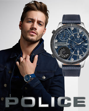POLICE WATCHES FOR MEN | SILVER STEEL JEWELLERY AUSTRALIA | AUTHORISED STOCKIST | ITALIAN DESIGN | BIG DIAL WATCHES | MODERN DESIGNS | LEATHER WATCH STRAPS