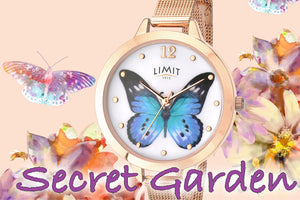 SECRET GARDEN WATCHES BY LIMIT | INSPIRED BY THE BEAUTY OF ENGLISH GARDENS