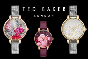 TED BAKER WATCHES AUSTRALIA | TIME FLIES WITH TED | FLORAL DIAL DESIGNS | LADIES WATCH COLLECTION