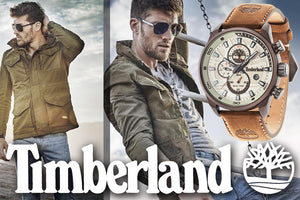 TIMBERLAND WATCHES AUSTRALIA | LIVE THE ADVENTURE | SILVER STEEL JEWELLERY