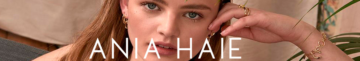 ANIA HAIE JEWELLERY | FASHION-FORWARD WITH EVERYDAY STYLE | STERLING SILVER