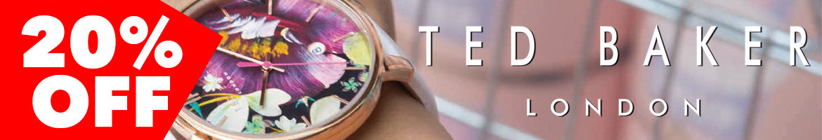Ted Baker Watches | SALE | Quirky British Designed Timepieces