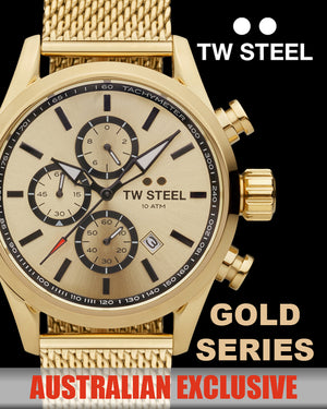 TW STEEL WATCHES | AUSTRALIAN GOLD SERIES | SILVER STEEL JEWELLERY