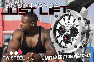 TW STEEL | SIMEON PANDA LIMITED EDITION WATCHES