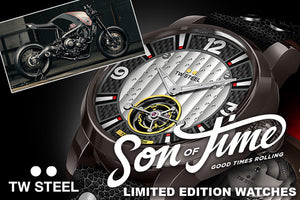 TW STEEL | SON OF TIME CUSTOM MOTORCYCLE WATCHES