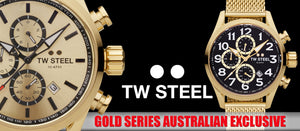 TW STEEL | GOLD SERIES WATCHES | SILVER STEEL JEWELLERY