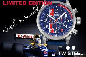 TW STEEL NIGEL MANSELL LIMITED EDITION WATCH | 1992 FORMULA ONE CHAMPION RED 5