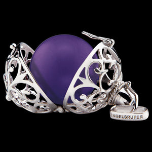 ENGELSRUFER PURPLE SOUNDBALL PENDANT - OPEN CAGE