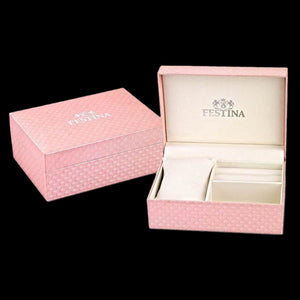 FESTINA LADIES PINK WATCH ACCESSORY BOX