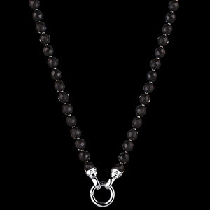 KAGI JET BLACK PETITE 47CM NECKLACE