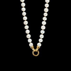 KAGI GOLD CREAM PEARL NECKLACE