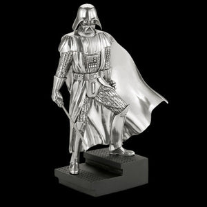 STAR WARS ROYAL SELANGOR DARTH VADER PEWTER LIMITED EDITION FIGURINE