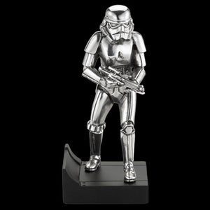 STAR WARS ROYAL SELANGOR STORMTROOPER PEWTER FIGURINE