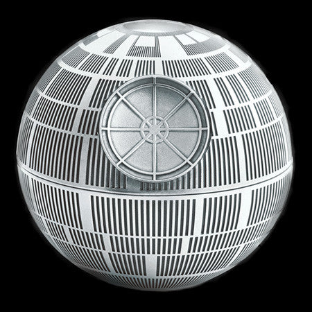 STAR WARS ROYAL SELANGOR DEATH STAR PEWTER TRINKET BOX