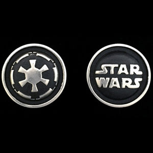 STAR WARS ROYAL SELANGOR GALACTIC EMPIRE PEWTER CUFFLINKS