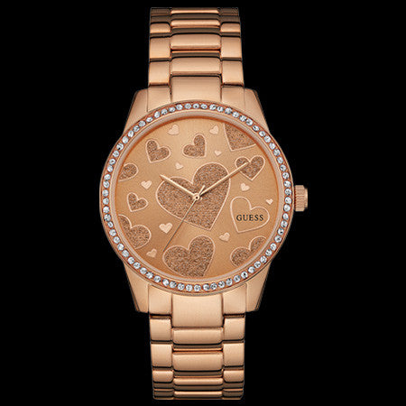 GUESS SERENADE ROSE GOLD LADIES SPORT WATCH