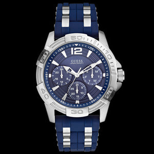 GUESS OASIS BLUE MEN'S SPORT WATCH