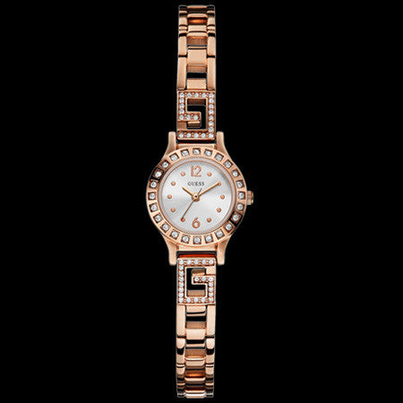 GUESS DARLING ROSE GOLD LADIES DRESS WATCH
