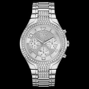GUESS STELLAR SILVER LADIES SPORT WATCH