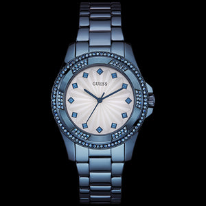 GUESS PINWHEEL SKY BLUE LADIES SPORT WATCH