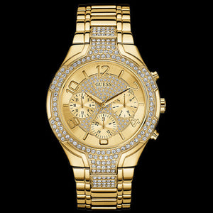 GUESS STELLAR GOLD LADIES SPORT WATCH