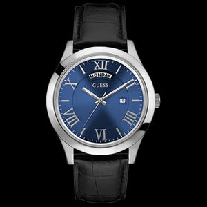 GUESS METROPOLITAN BLUE MEN'S DRESS WATCH
