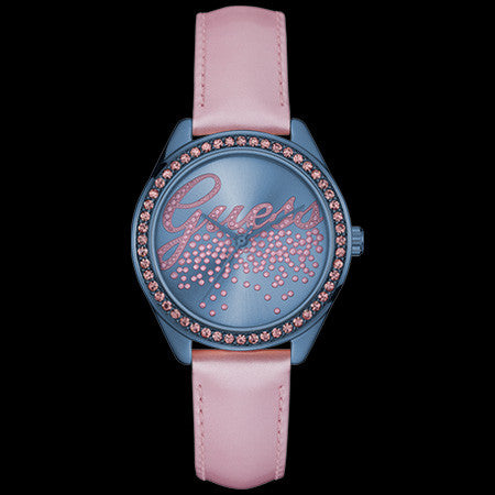 GUESS LITTLE PARTY GIRL SKY BLUE LADIES TREND WATCH