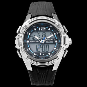 MAXUM BLACK BLADE MEN'S WATCH