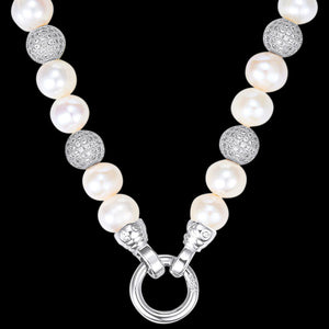 KAGI PEARL LUXE SPARKLE 49CM NECKLACE