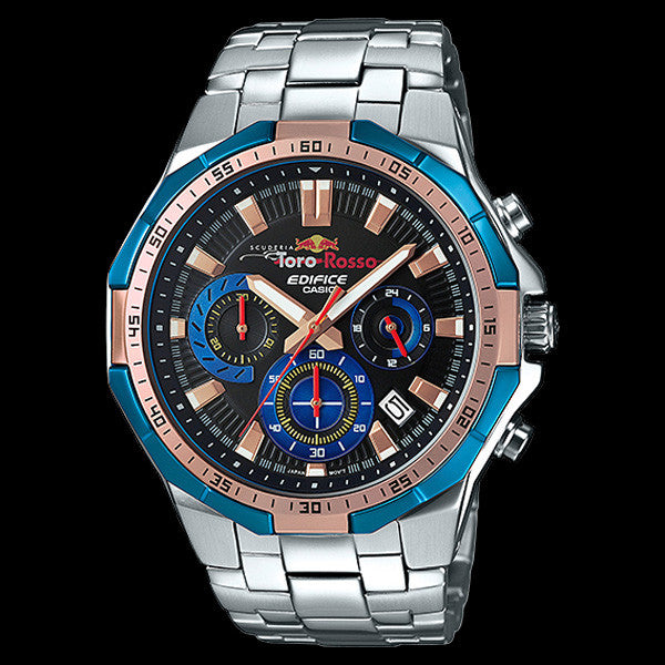 CASIO EDIFICE RED BULL SCUDERIA TORO ROSSO LIMITED EDITION WATCH EFR554TR-2A