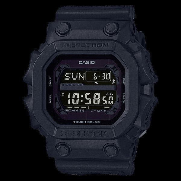 CASIO G-SHOCK BASIC BLACK OUT SQUARE WATCH GX56BB-1D – Silver Steel