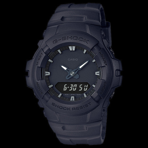 2346b0b6bdcf CASIO G-SHOCK BASIC BLACK OUT ANALOGUE WATCH G100BB-1A – Silver Steel