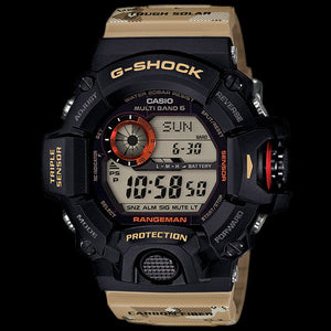 CASIO G-SHOCK MASTER IN DESERT RANGEMAN WATCH GW9400DCJ-1D