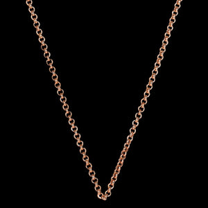 KAGI STEEL ME ROSE GOLD 47CM PETITE CHAIN NECKLACE