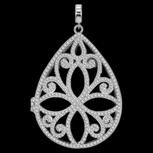 KAGI ENDLESS ELEGANCE SILVER DREAMCATCHER LARGE PENDANT