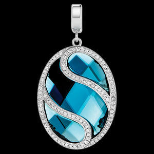 KAGI BLUE DANUBE MEDIUM PENDANT