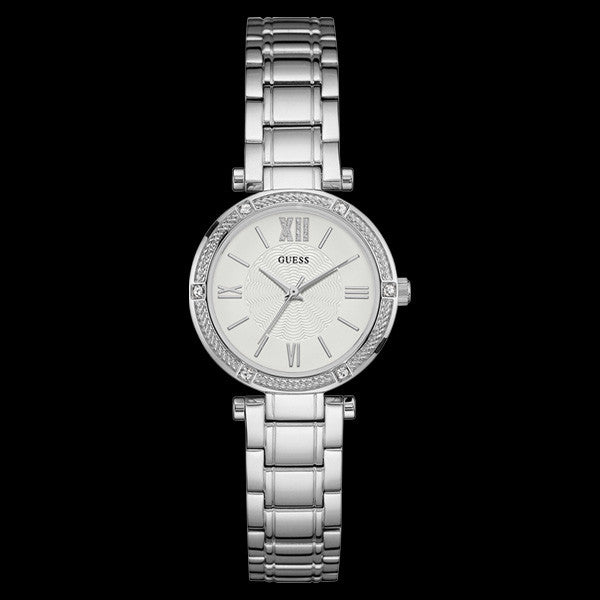 GUESS PARK AVENUE SOUTH SILVER LADIES DRESS WATCH