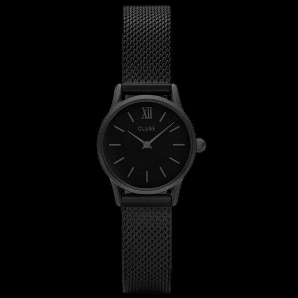 CLUSE LA VEDETTE MESH FULL BLACK WATCH