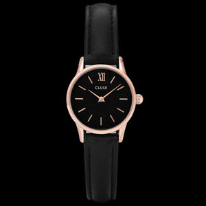 CLUSE LA VEDETTE ROSE GOLD BLACK/BLACK WATCH