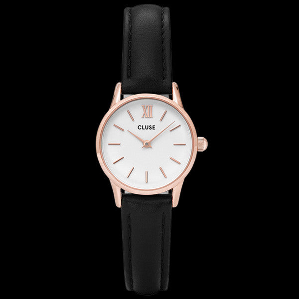 CLUSE LA VEDETTE ROSE GOLD WHITE/BLACK WATCH