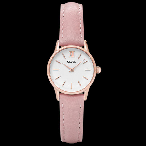 CLUSE LA VEDETTE ROSE GOLD WHITE/PINK WATCH